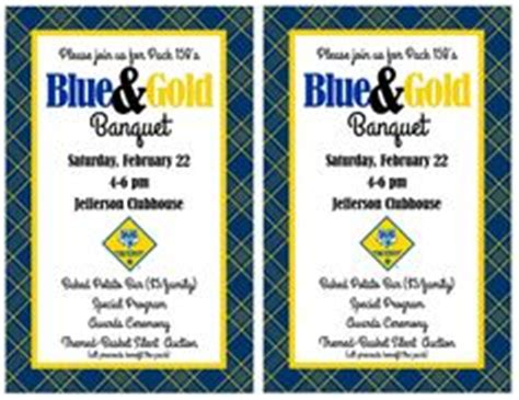 1000 Images About Cub Scouts Blue And Gold On Pinterest Cub Scouts Banquet And Blue Gold Blue And Gold Banquet Program Template
