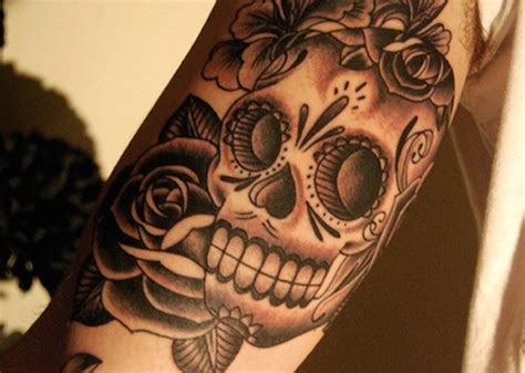 day of the dead tattoos with roses 166 best day of the dead tattoos