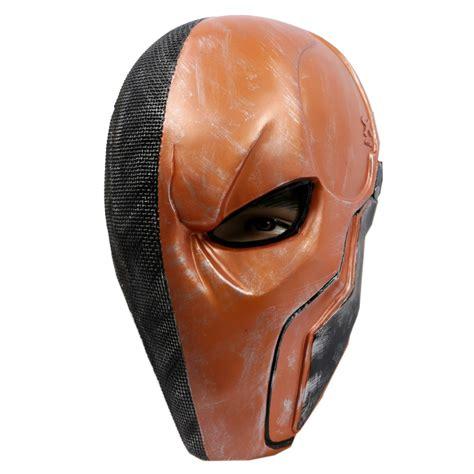 Masker Origins aliexpress buy new deathstroke pvc mask helmet batman arkham origins deathstroke mask