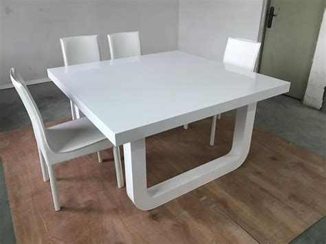 solid surface 8 home dining table