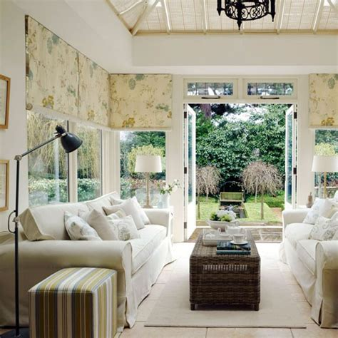 conservatory living room neutral conservatory living room traditional conservatory ideas housetohome co uk