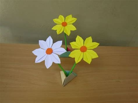 paper daisy flower tutorial how to make a beautiful paper daisy flower easy