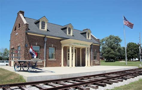 historic depot and history center open july 3 historic