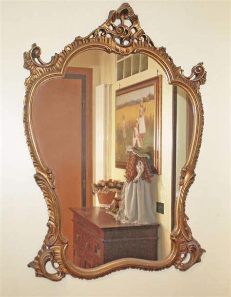 cornice stile barocco specchio antico stile barocco 110 x 80 cm a roma