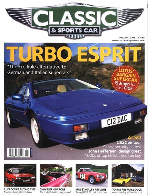 lotus esprit car cover lotus esprit magazine covers