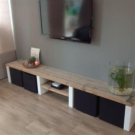 bank als tv meubel 25 beste idee 235 n over tv meubels op pinterest tv