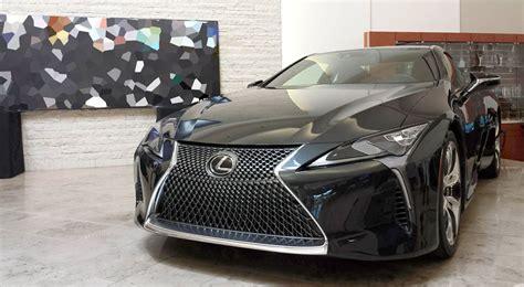 lexus lf lc black lexus lc 500 gray