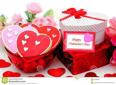 happy valentines day gifts for happy valentines day stock image image 36509591