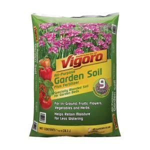 vigoro  cu ft garden soil   home depot