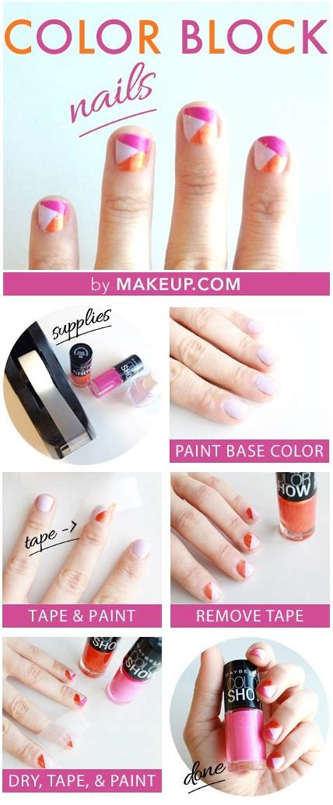 nail art ideas tutorial 15 diy nail tutorials with scotch tape