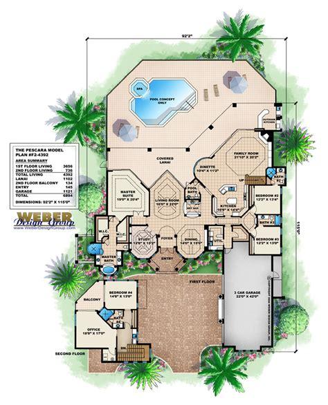 Lanai House Plans Lanai House Plans House Plans
