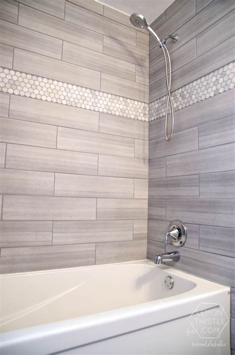 30 Grey Shower Tile Ideas And Pictures Tile Bathroom Shower