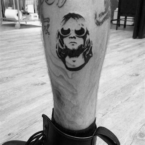 kurt cobain tattoo 60 nirvana designs for rock band ink ideas