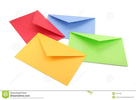 colorful envelopes colorful envelopes stock photo image of communication