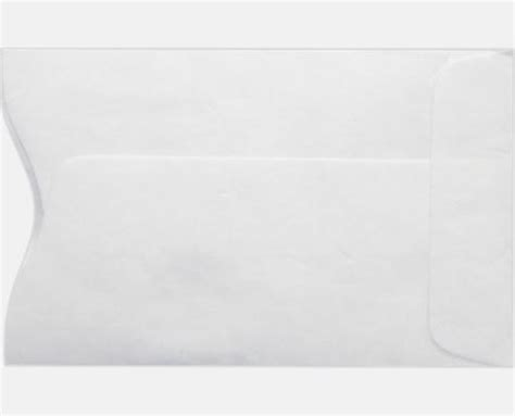 credit card envelope template credit card sleeve 2 1 4 x 3 1 2 14lb 14lb tyvek