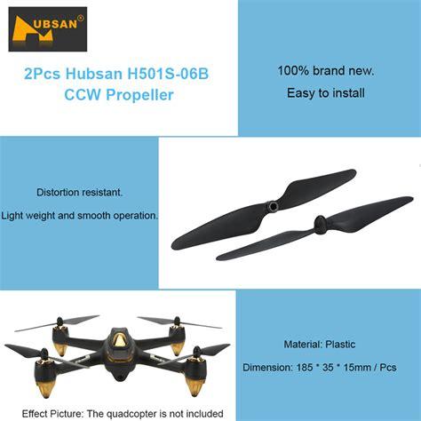 Propeller B Ccw For Hubsan H501s 2x hubsan h501s 06b ccw propeller blade for hubsan h501s