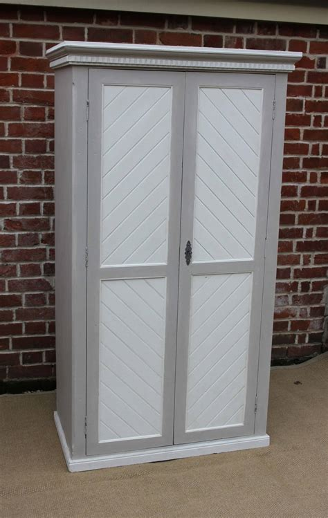 Two Door Wardrobes For Sale Painted Two Door Wardrobe For Sale At 1stdibs