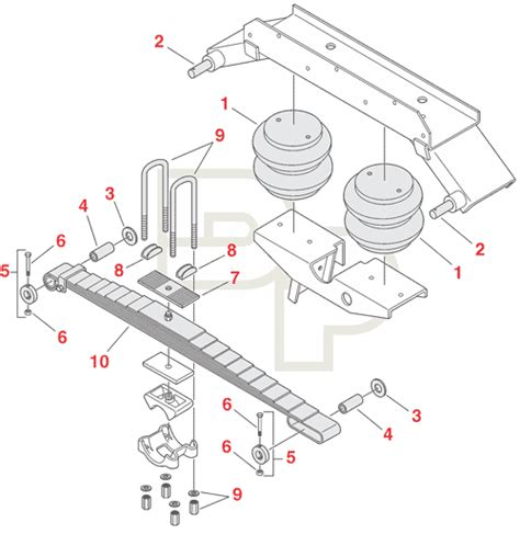 trailer suspension parts diagram neway trailer suspension diagram free wiring