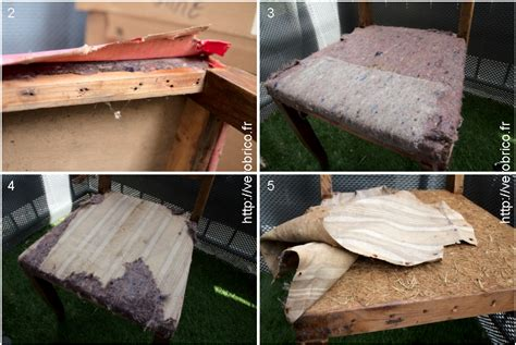 Rembourrer Une Chaise by Relooker Une Chaise Le Coin Bricolage De V 233 Robrico
