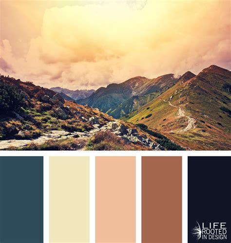the colors of the mountain colors of the mountains mountain color palettes