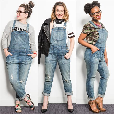 fashion how to wear overalls overalls created by doris knezevic the most flattering overalls popsugar fashion