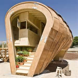 cool small house designs spanish design in wood dezeen