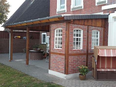 veranda fachwerkhaus terrassen 252 berdachung