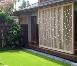 backyard screen ideas modern lattice screens landscaping network