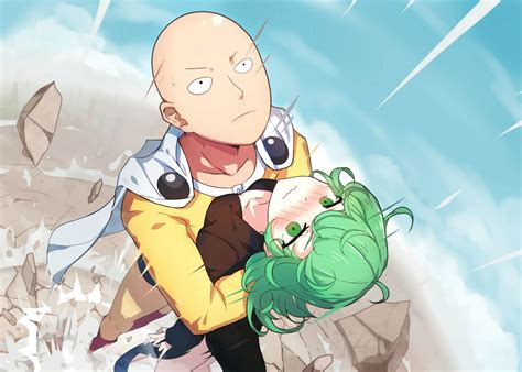 onepunch one saitama and tatsumaki one punch your meme
