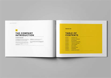 Brand Manual Template Brand Manual On Behance