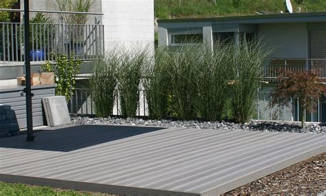 wpc terrasse wpc terrasse steingrau wooden tec 214 sterreich