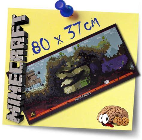 Plakat Xl by Minecraft Poster Banner Plakat Xl Creeper Block Mine Craft