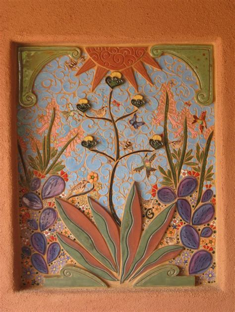 Handmade Tiles - 17 best images about tile and wall plaques on
