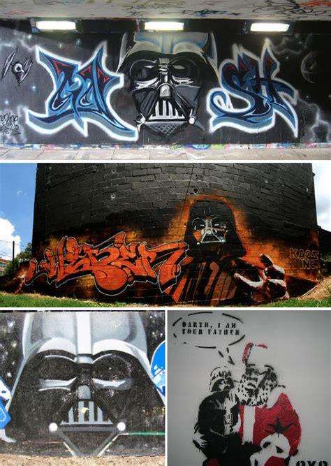 art strikes    sweet star wars graffiti