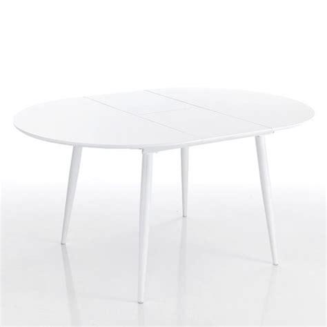 tavolo ovale allungabile tavolo ovale moderno allungabile bianco con piano in legno