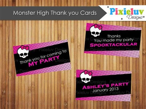 printable monster high student id cards 52 best monster high party images on pinterest monster