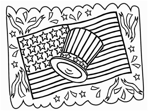 printable coloring pages for july 4th free 4th of july coloring pages coloring home