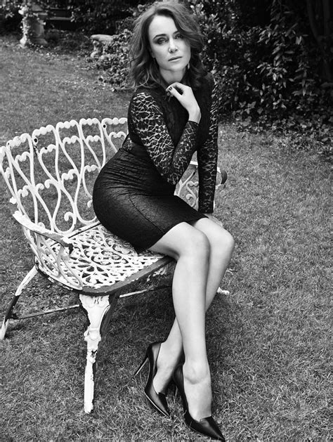 ezra white high heels keeley hawes black and white picture october magazine
