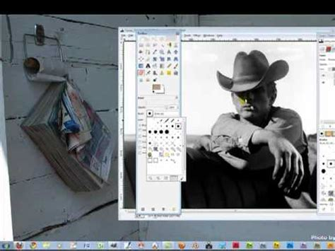 gimp making image black and white gimp how to colorize a black and white image youtube