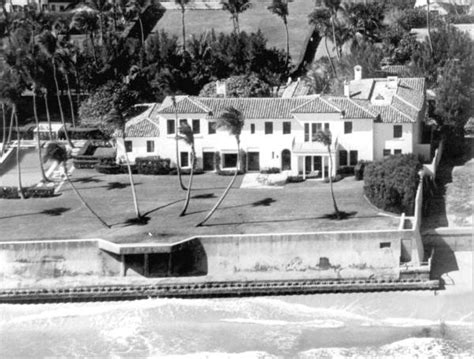 kennedy house in palm florida memory aerial view of president kennedy s palm