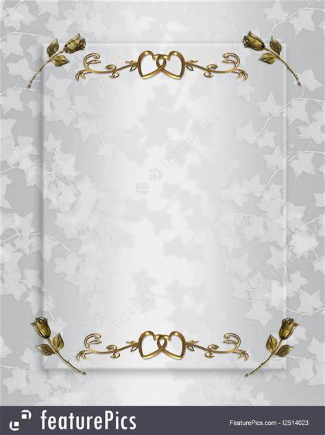 Illustration Of Wedding Invitation Elegant Satin