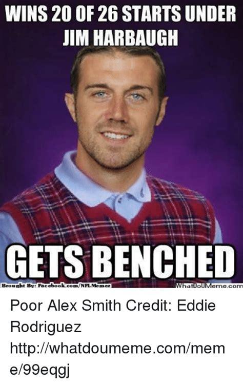Alex Smith Meme - 25 best memes about jim harbaugh jim harbaugh memes