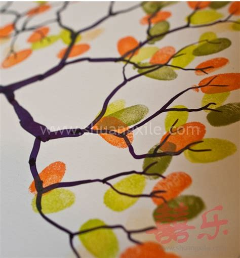 Dropbolt By Acesories Finger Print tree thumbprint guestbook wedding guest books