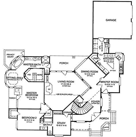 corner house floor plans unique entry home plan 54006lk 1st floor master suite