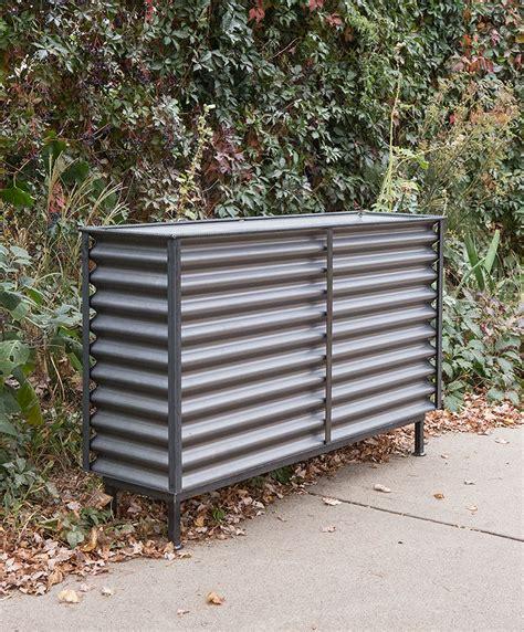 Corrugated Metal Insert Planter Custom By Rushton Llc Corrugated Metal Planter Box