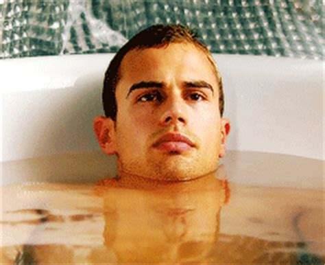 theo james bathtub man crush monday theo james her cus