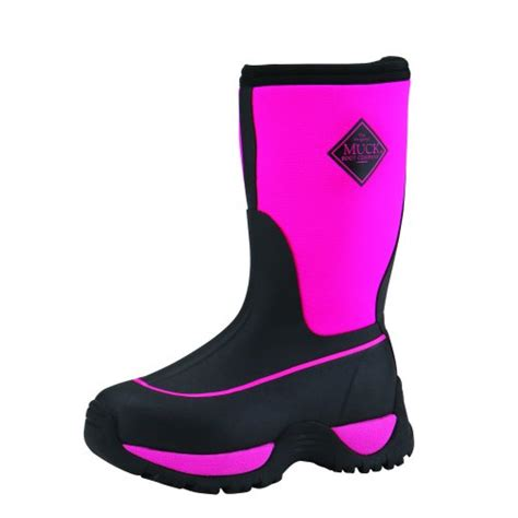 toddler muck boots the muck boots kid s rugged outdoor sport boot black