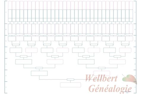 7 generation family tree template free 5 best images of printable family tree template free