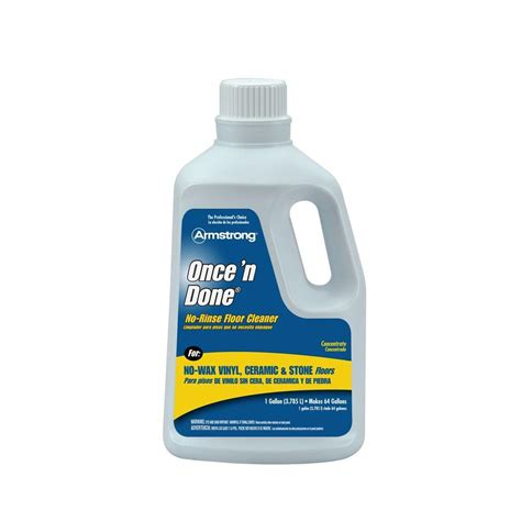 armstrong floor polish 64 oz once n done floor cleaner 00330806 shopyourway