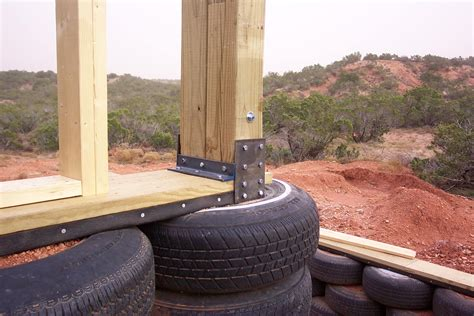 tire house index of earthship